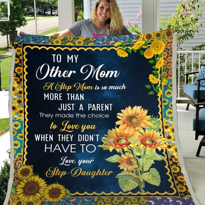 Gift For Other Mom More Than Just A Parent - Blanket - Adult