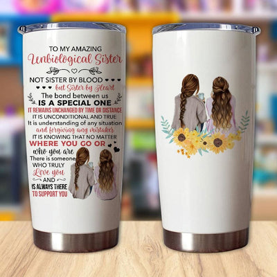 Gift For Sister Unbiological Sister The Bond Between Us Is A