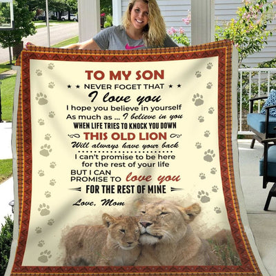 Gift For Son Love You For The Rest Of Mine - Blanket - Kid