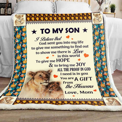 Gift For Son You Are The Gift Of The Heavens - Blanket -