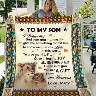 Gift For Son You Are The Gift Of The Heavens - Blanket - Kid