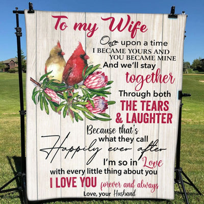 Gift For Wife I Love You Forever & Always - Blanket - Adult