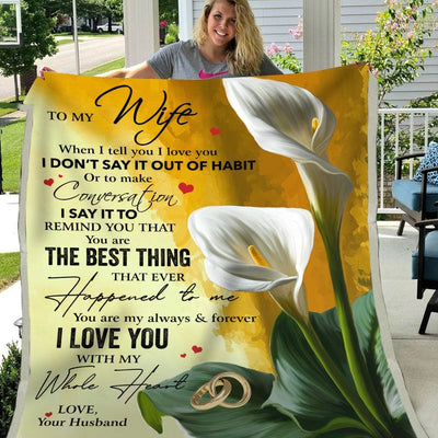 Gift For Wife You Are My Always & Forever I Love You -