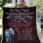 Gift For Wife You Are My One And Only - Blanket - Adult