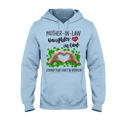 Mother-In-Law Daughter-In-Law A Bond Can't Be Broken T-shirt