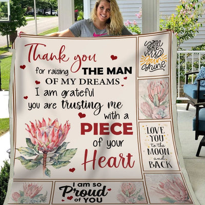 Thanks For Raising The Man Of My Dreams - Blanket - Adult