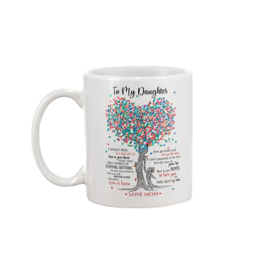 To My Daughter Love You For The Rest Of Mine Mug - 15oz Mug
