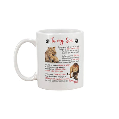 To My Son Love You Till My Days Are Done From Dad Mug - 11oz