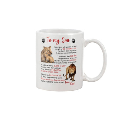 To My Son Love You Till My Days Are Done From Dad Mug -