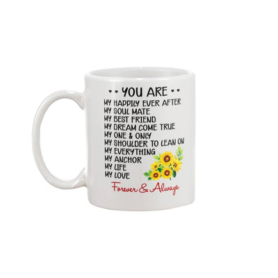You Are My Everything Love You Forever And Always Mug - 11oz