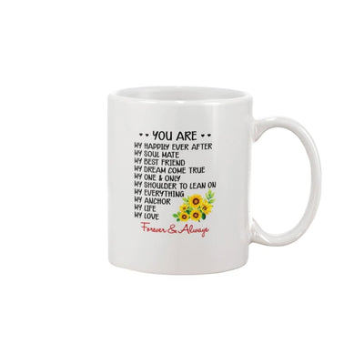 You Are My Everything Love You Forever And Always Mug -