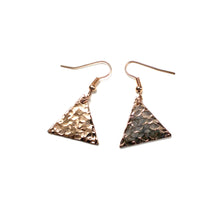 Boucles d'oreille en triangle - Tilda  Or rose Boucles d'oreille Mercy's Fancy