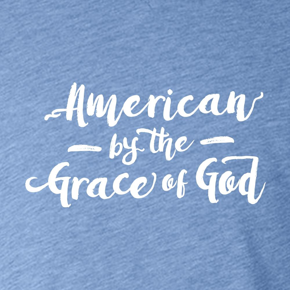 American by the Grace of God Women's T-Shirt