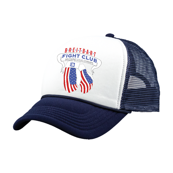 Breitbart Fight Club USA Champs Hat - Navy