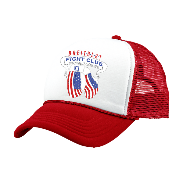 Breitbart Fight Club USA Champs Hat - Red