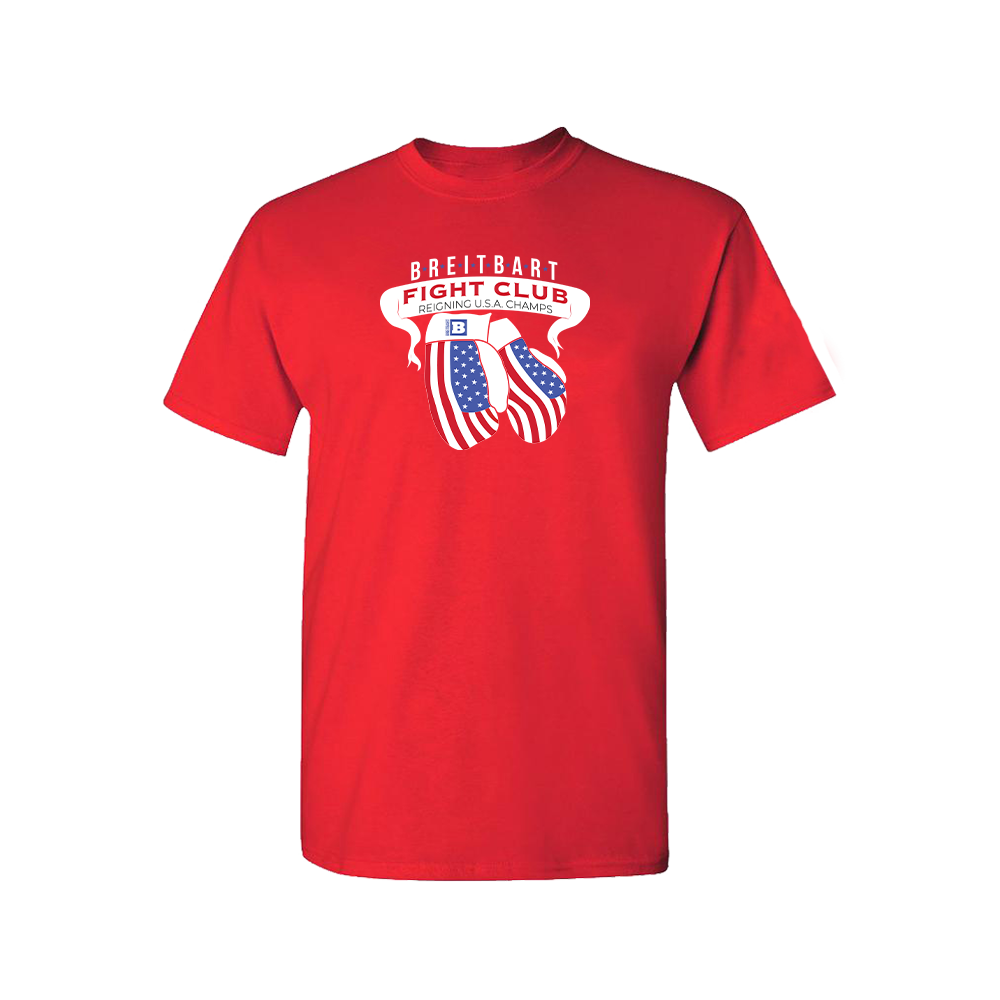Breitbart Fight Club USA Champs T-shirt - Red