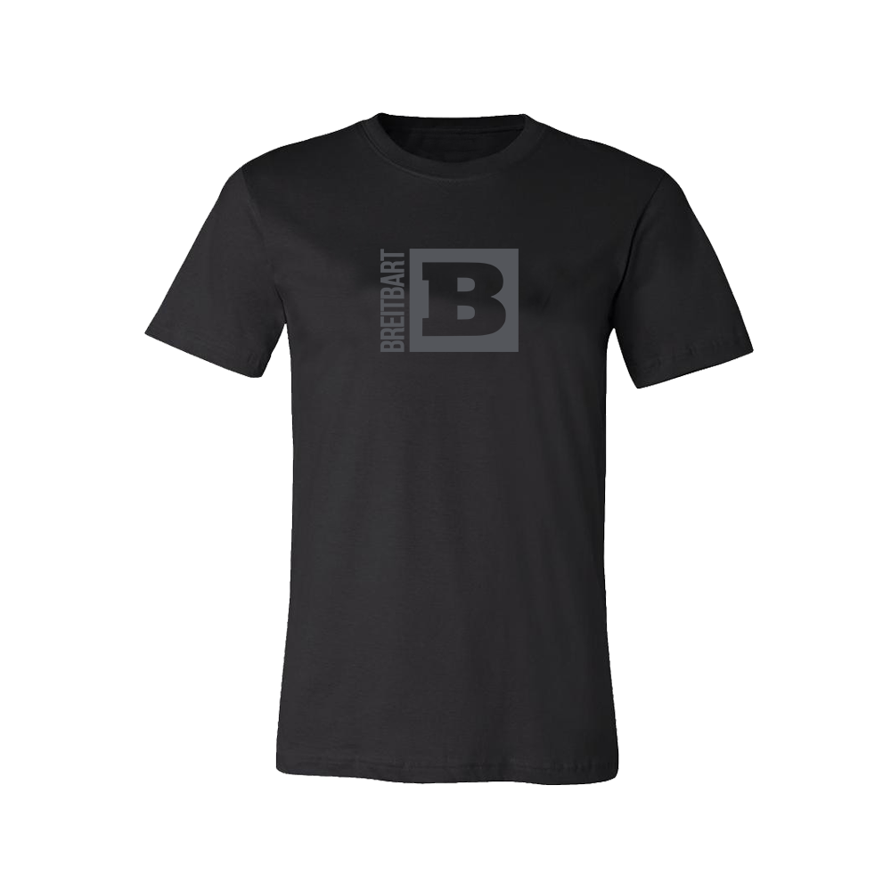 Official Breitbart Logo T-Shirt - Black