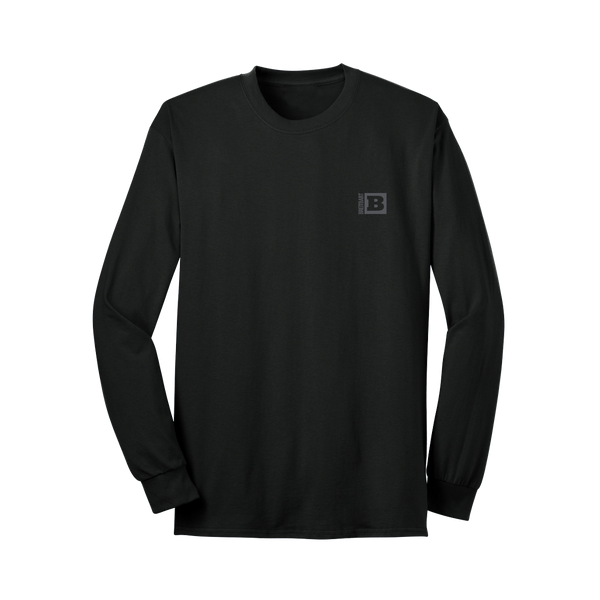 Breitbart Logo Long Sleeve T-Shirt - Black