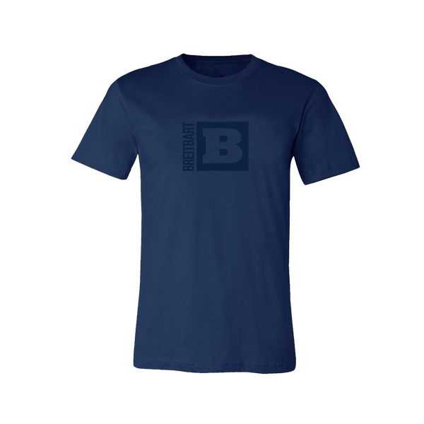 Official Breitbart Logo T-Shirt - Navy