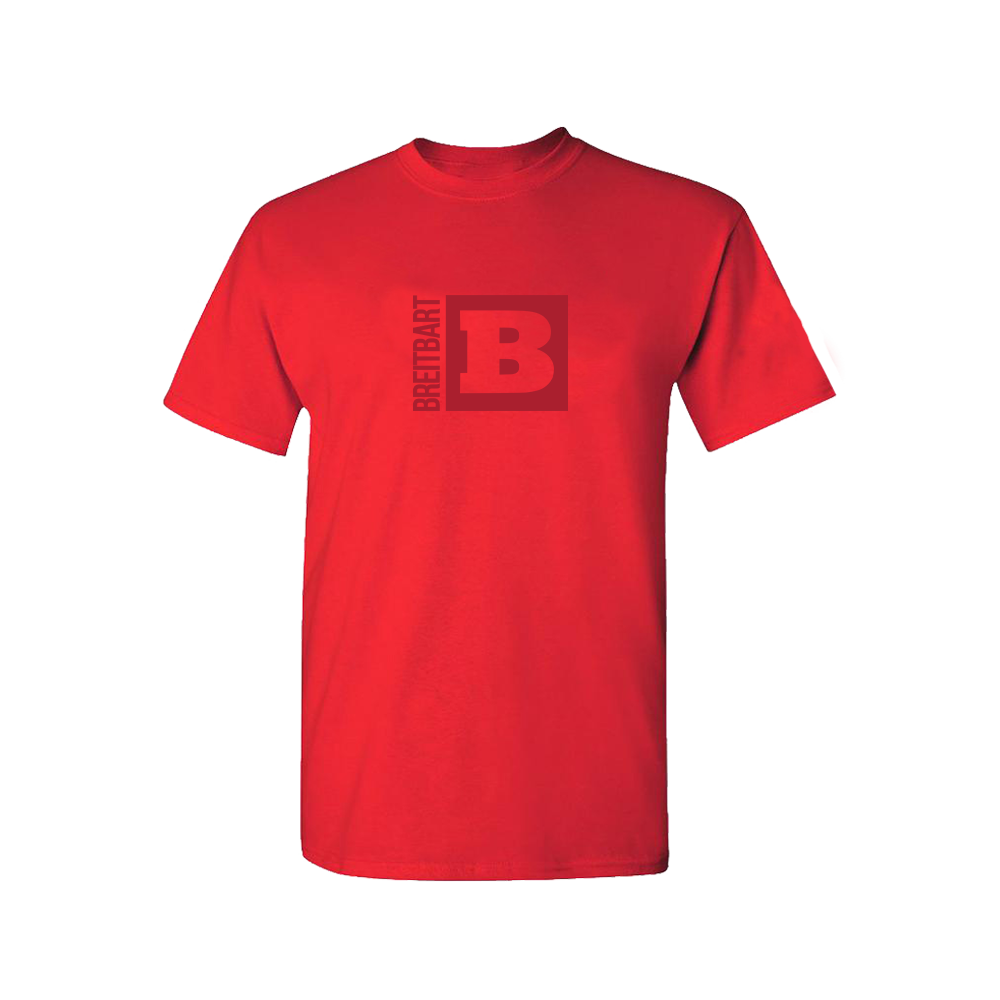 Official Breitbart Logo T-Shirt - Red