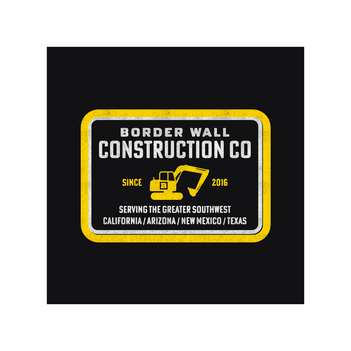 Border Wall Construction Company Women's T-Shirt - Black