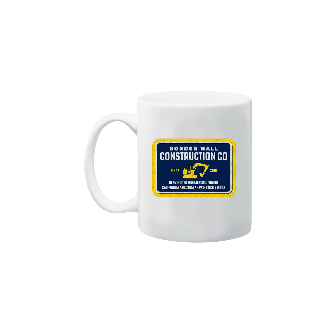 Border Wall Construction Company Mug