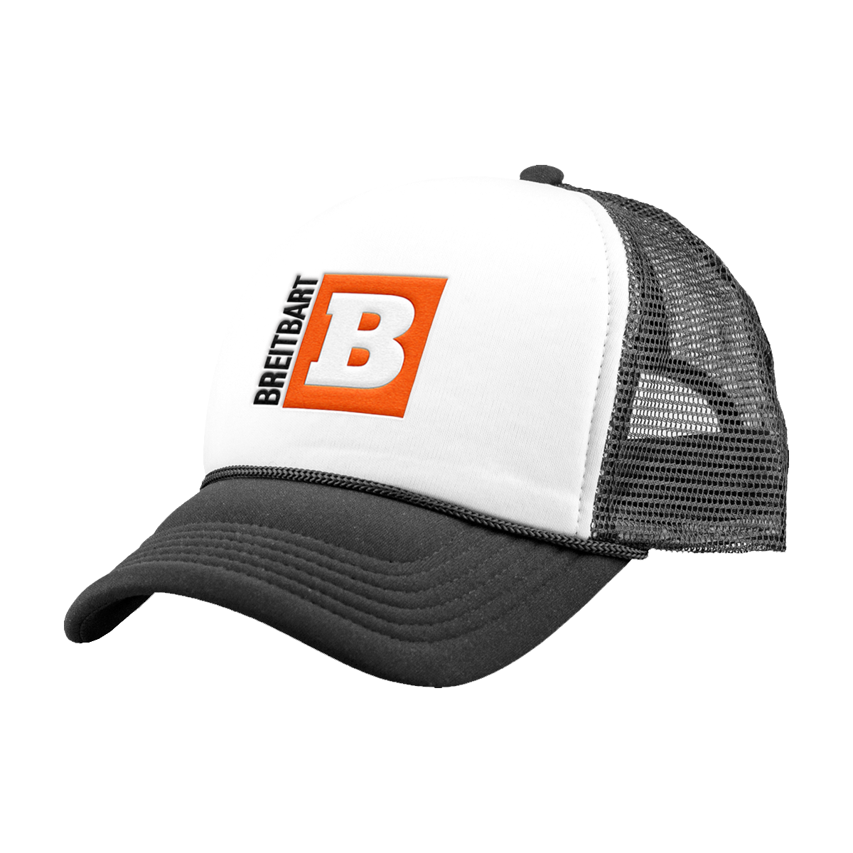 Iconic Breitbart Logo Hat - Black