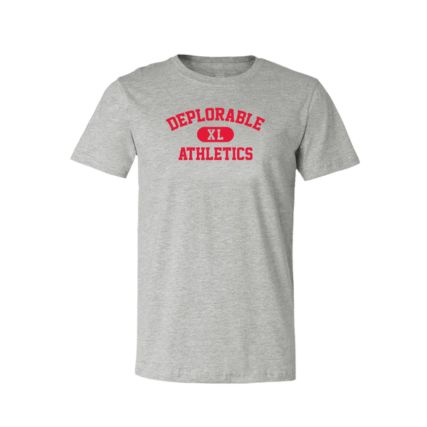 Deplorable Athletics T-Shirt - Grey