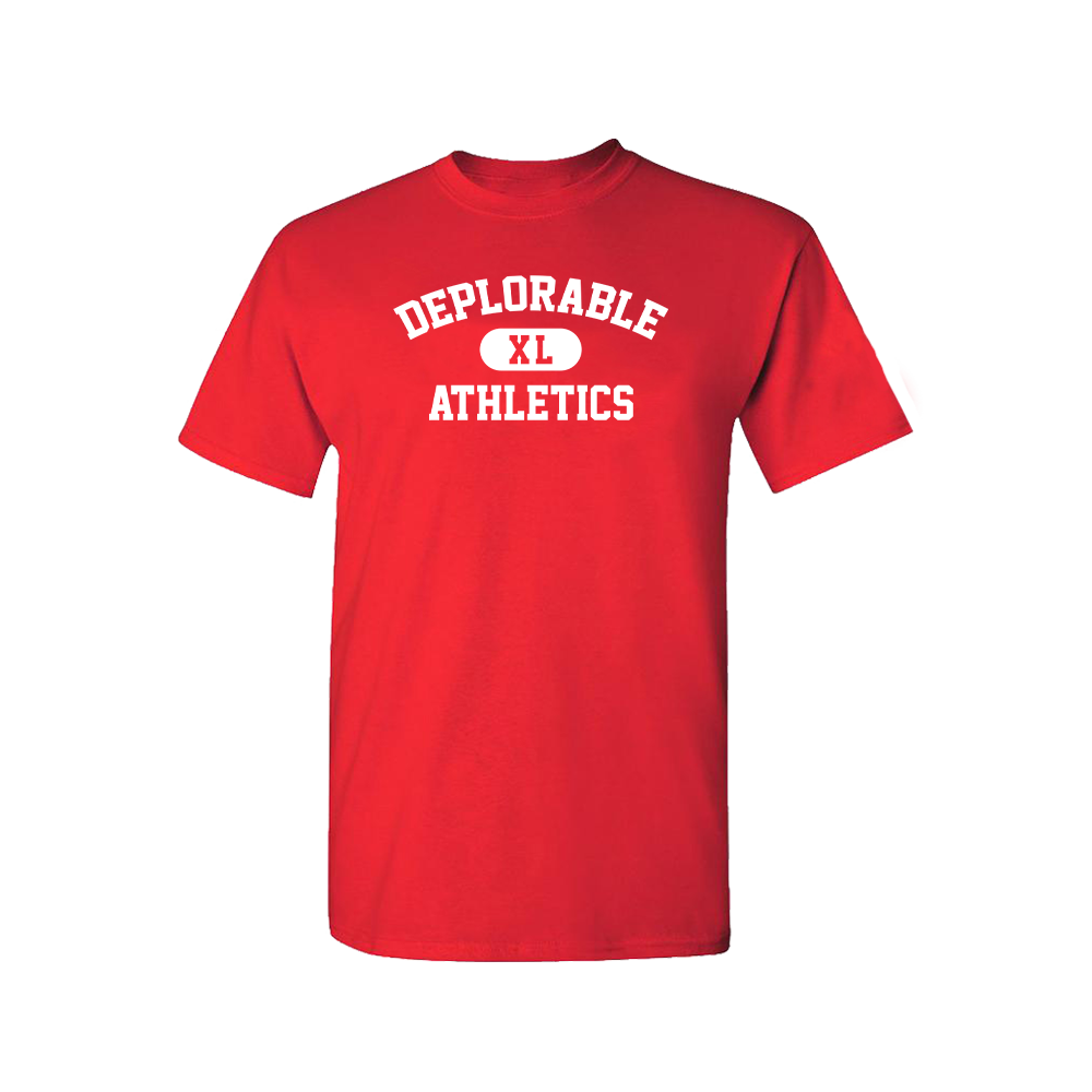Deplorable Athletics T-Shirt - Red