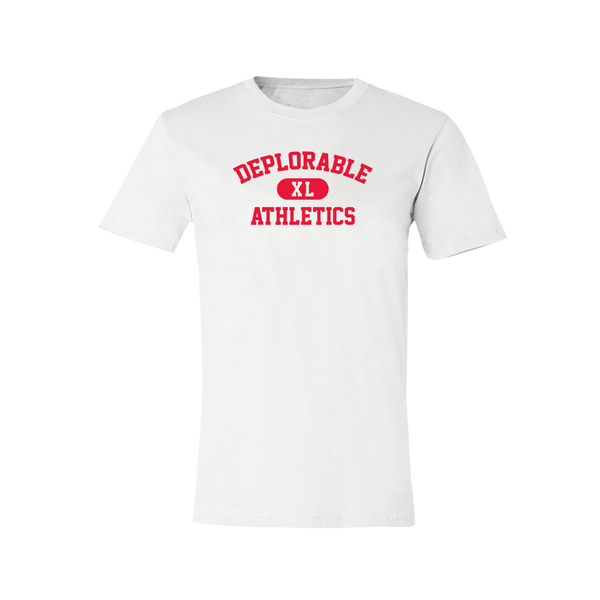 Deplorable Athletics T-Shirt - White
