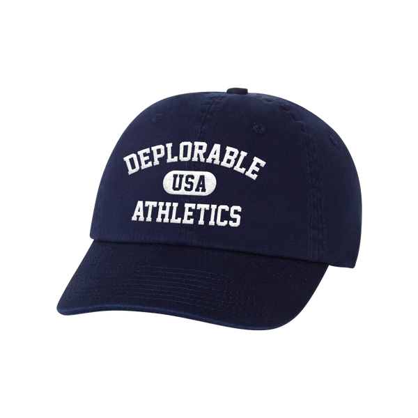 Deplorable Athletics Hat - Navy