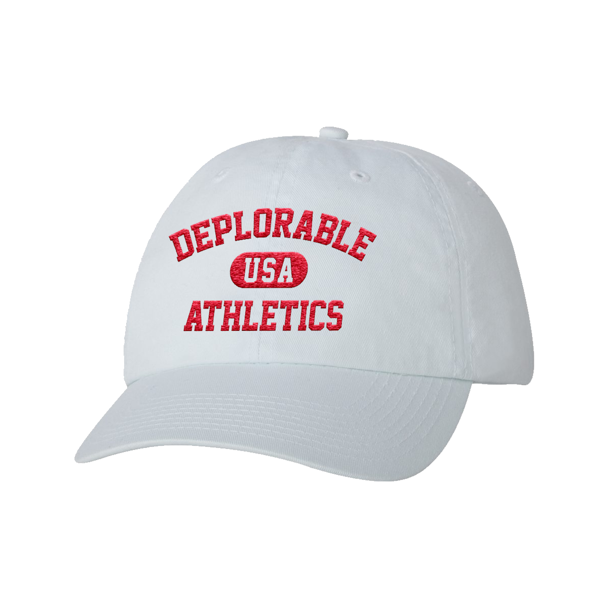 Deplorable Athletics Hat - White