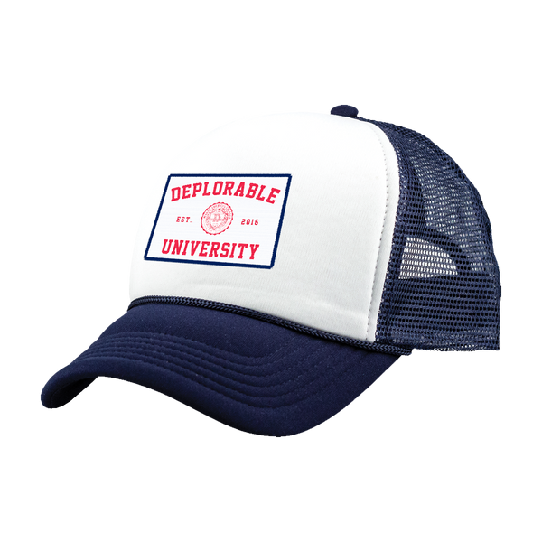 Deplorable University Hat - Navy