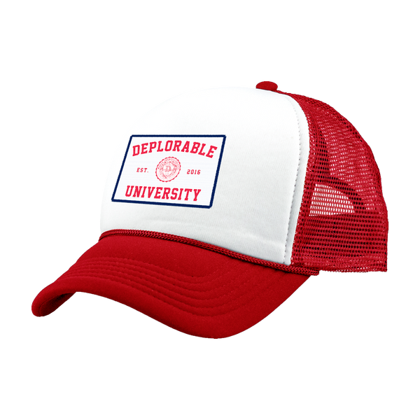 Deplorable University Hat - Red