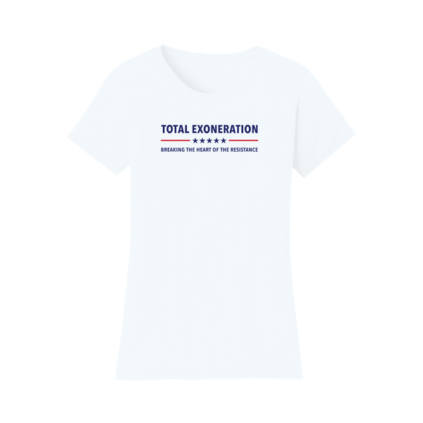 Total Exoneration Women's T-Shirt - White