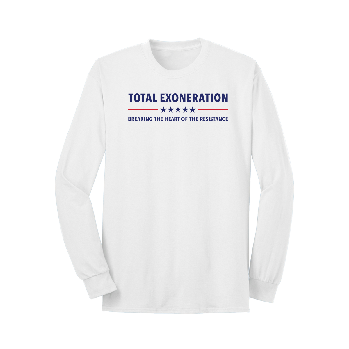 Total Exoneration Long Sleeve T-Shirt - White