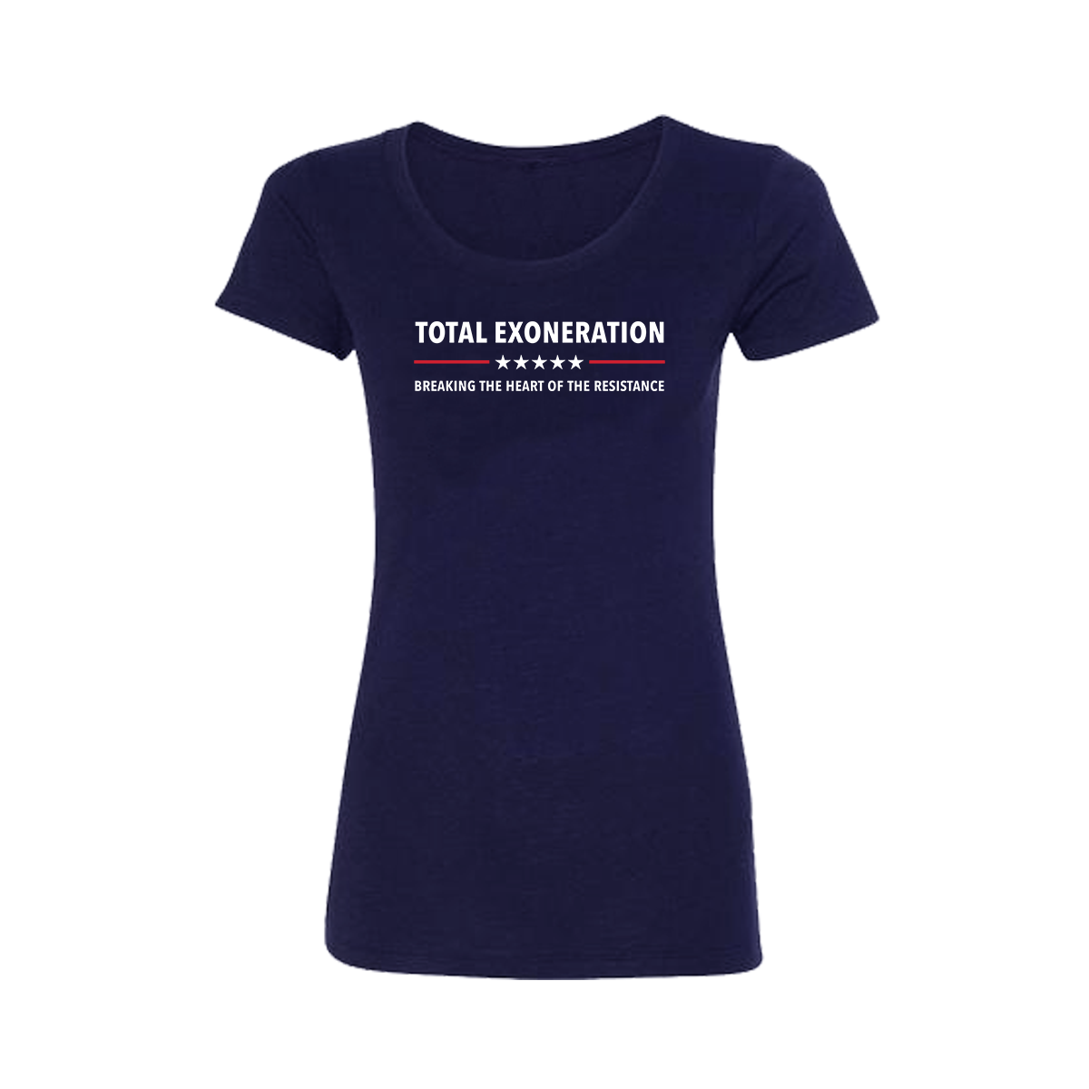 Total Exoneration Women's T-Shirt - Navy