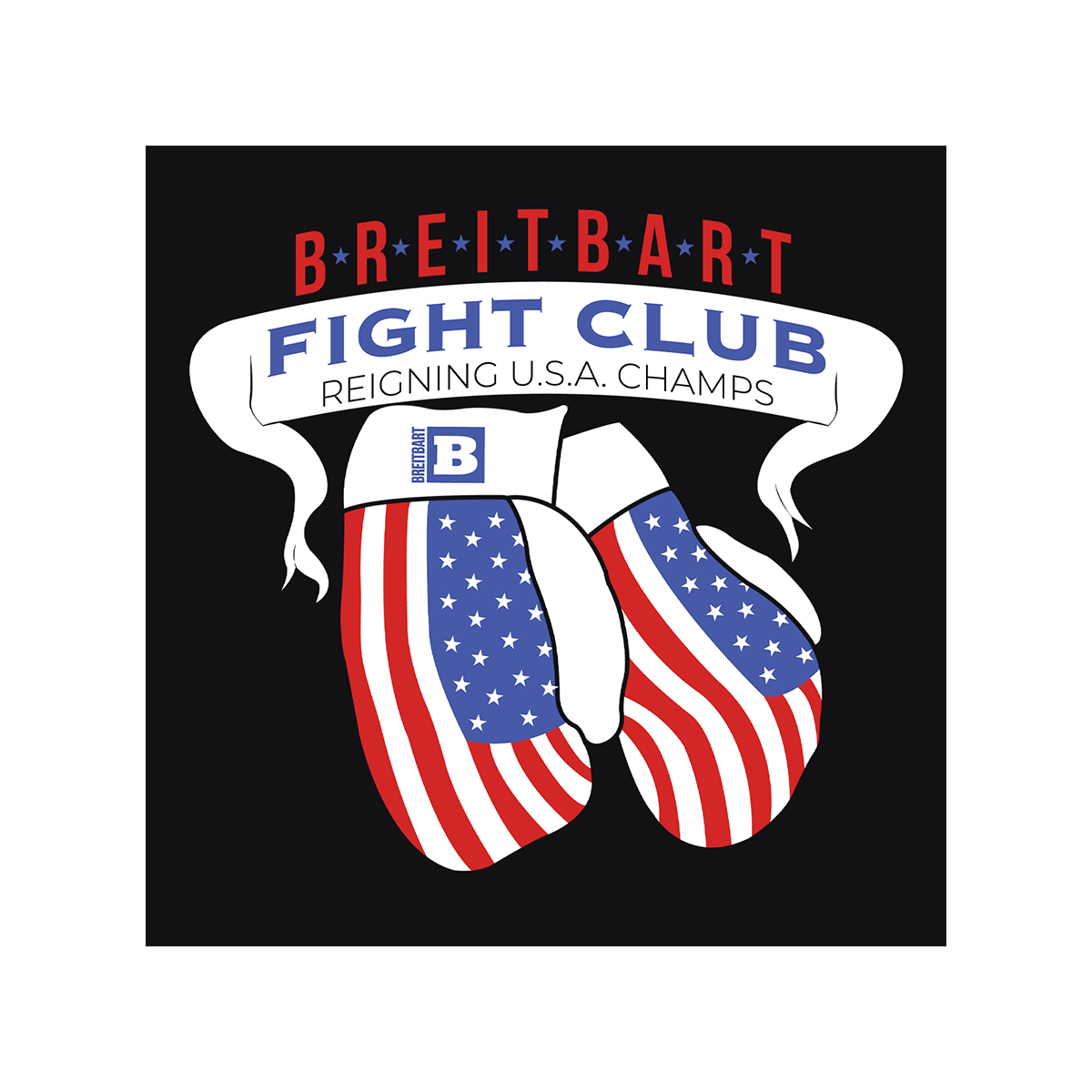 Breitbart Fight Club USA Champs Women's T-shirt - Black