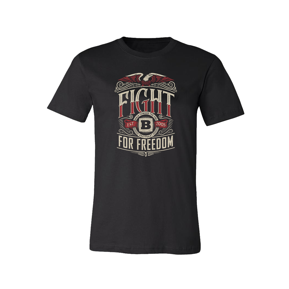 Fight For Freedom T-Shirt - Black