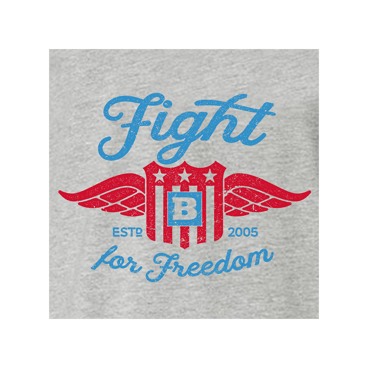 Fight For Freedom Retro Women's T-Shirt - Grey