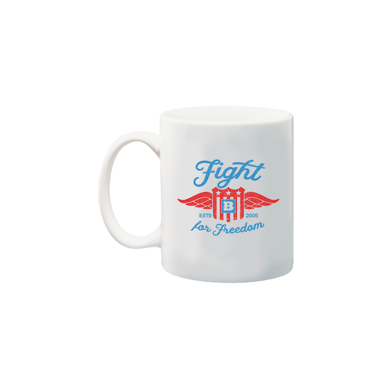 Fight for Freedom Retro Mug