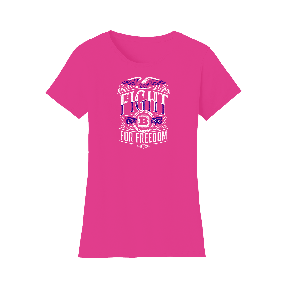 Fight for Freedom Women's T-shirt - Pink