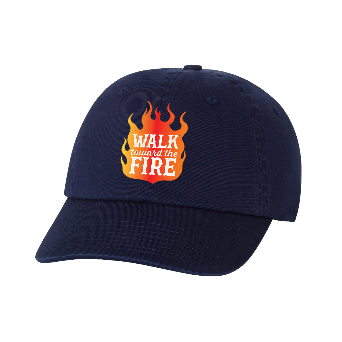 Walk Toward the Fire Hat - Navy