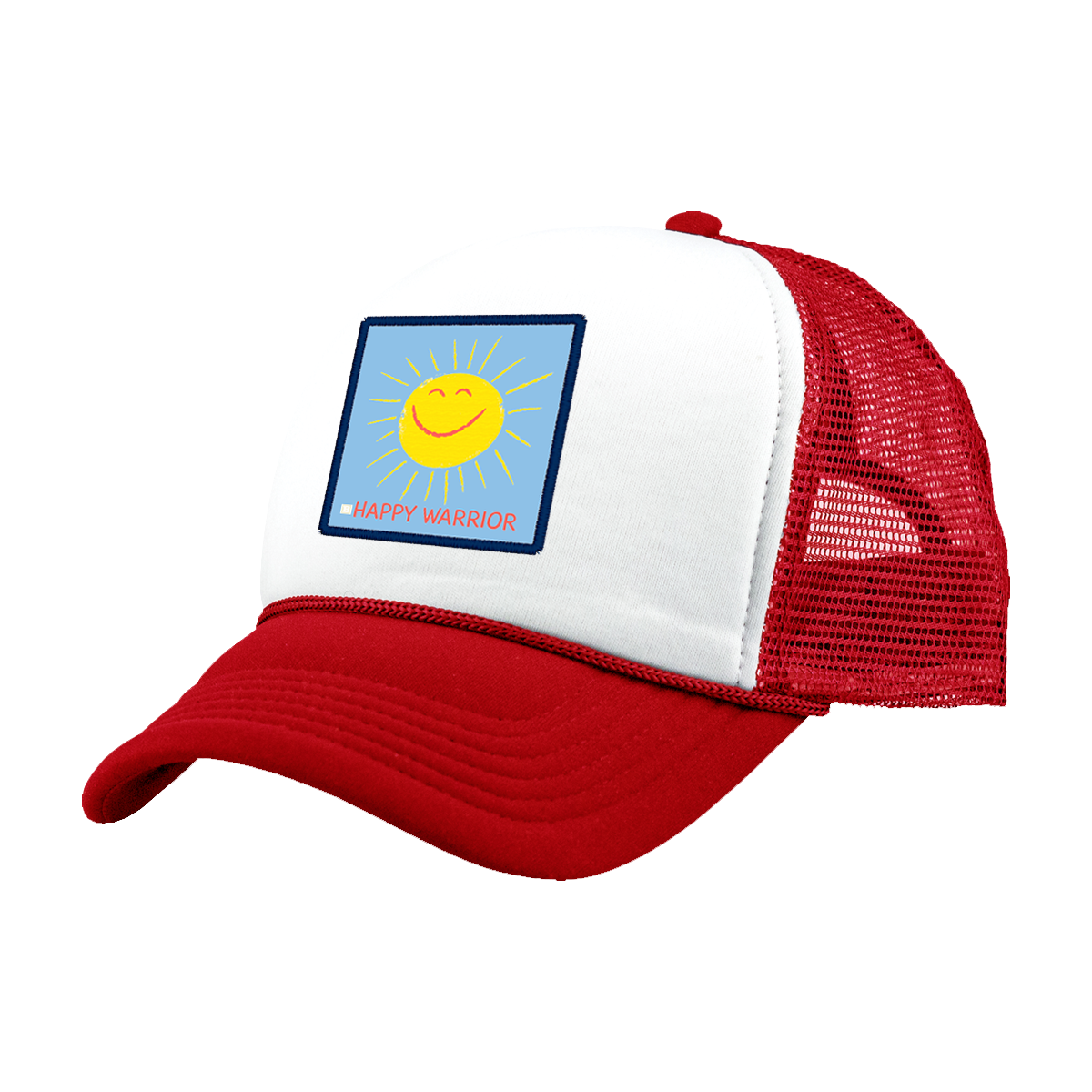 Happy Warrior Hat - Red