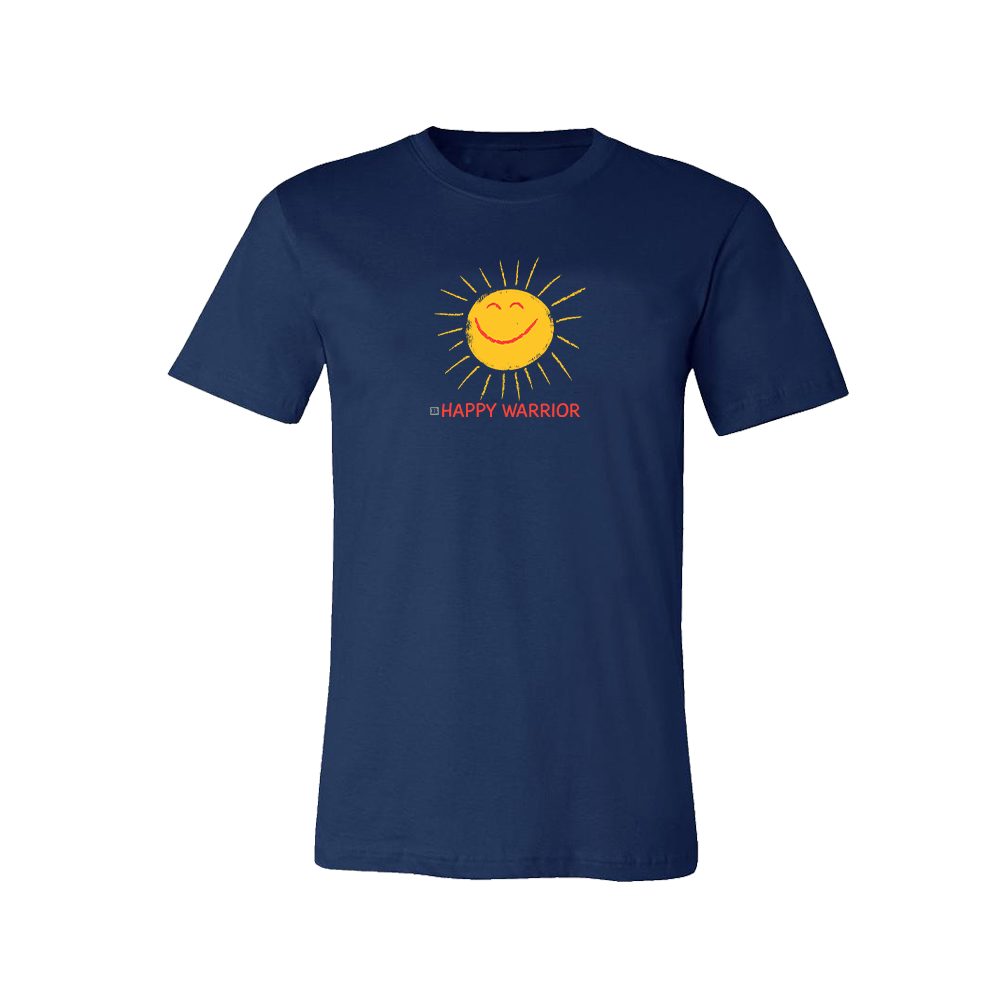 Happy Warrior T-Shirt - Navy