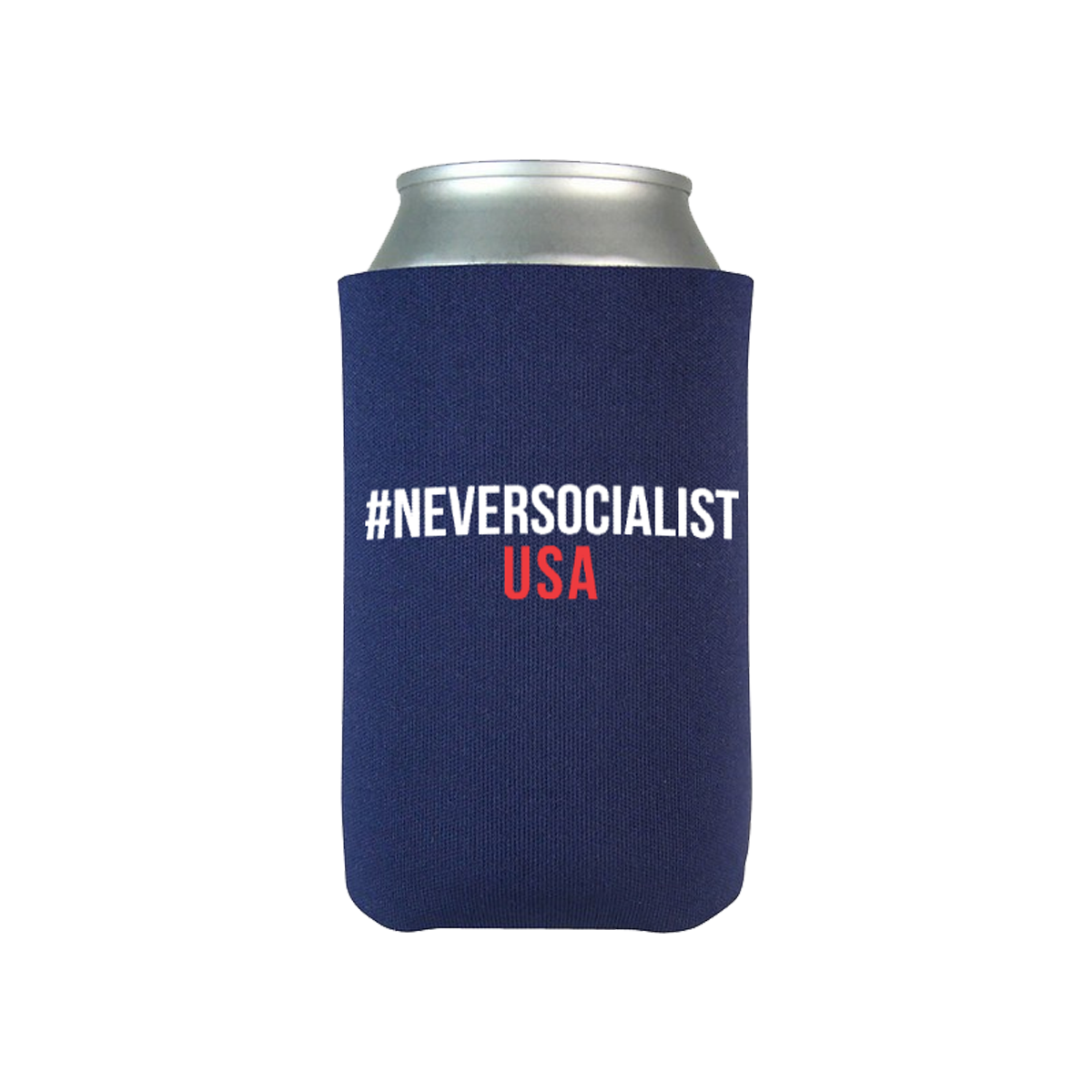 #NeverSocialist USA Coolies - Pack of 6