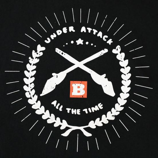 Under Attack All the Time Men's T-Shirt