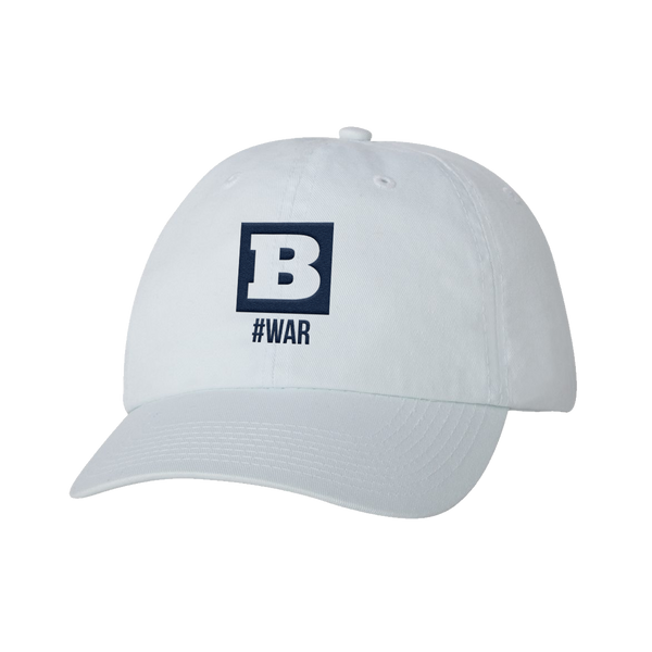 #WAR Hat - White