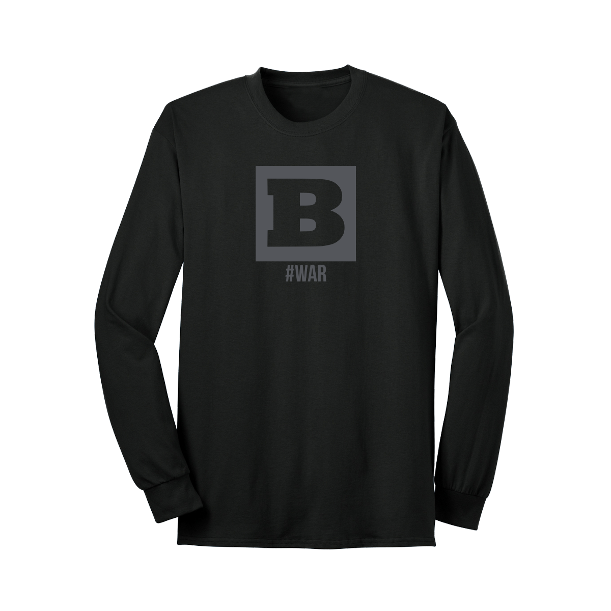 Breitbart #WAR Long Sleeve T-Shirt - Black