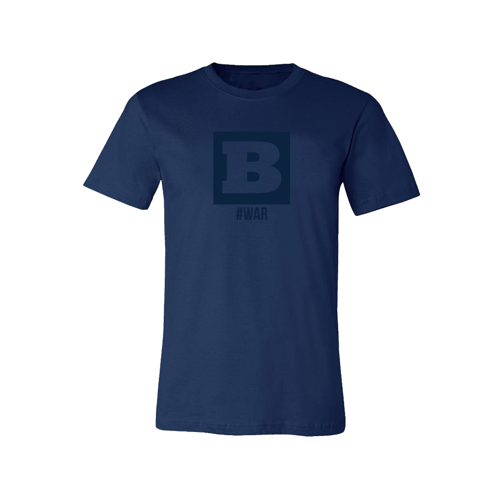 Breitbart #WAR T-Shirt - Navy